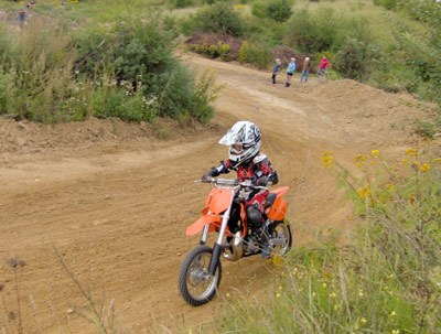 choosing a motorbike for a child