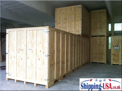 Long term containerised storage