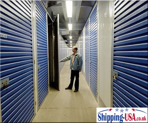 Short and long term storage services in the UK or USA